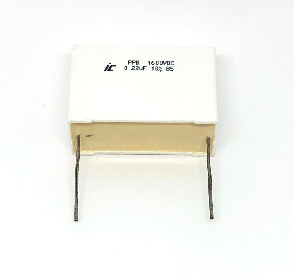 CAPACITOR POLIPROPILENO 0,22UF 1600VDC 224PPB162K ILLINOIS