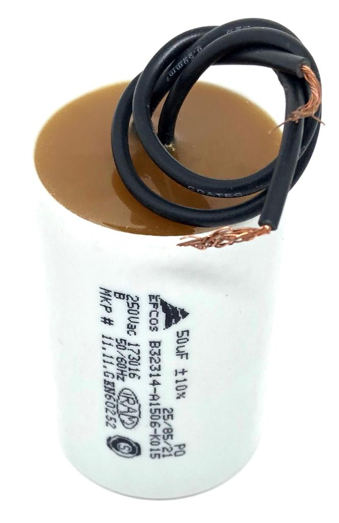 CAPACITOR PPM 50UF 250VCA B32314-A1506-K015 40X 64MM FIO EPCOS (B32314A1506K015)
