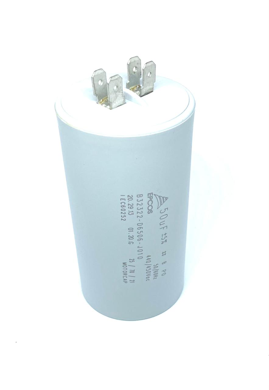 CAPACITOR PPM 50UF 440VCA/450VCA B32322-D6506-J010 EPCOS (B32322D6506J010)