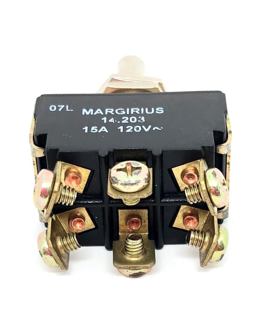 CHAVE ALAVANCA METALICA 03POSIÇÕES LIGA-DESLIGA-LIGA 14203-A1-B1-P1-Q MARGIRIUS (14203A1B1P1Q)