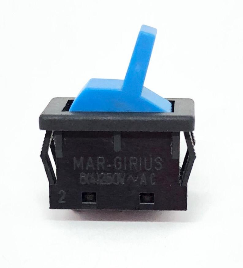 CHAVE INTERRUPTOR ALAVANCA AZUL LIGA-DESLIGA 13123-MF-AA-S1-S MARGIRIUS (13123MFAAS1S)