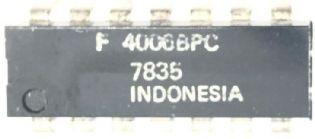 CIRCUITO INTEGRADO F4006BPC DIP 14PINOS FAIRCHILD