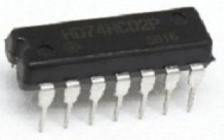 CIRCUITO INTEGRADO HD74HC02P DIP 14 PINOS