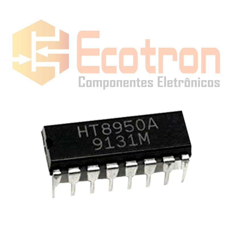CIRCUITO INTEGRADO HT8950A DIP 16 PINOS