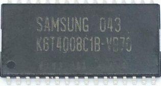 CIRCUITO INTEGRADO K6T4008C1B-VB70 SMD 32PINOS SOP-32 SAMSUNG