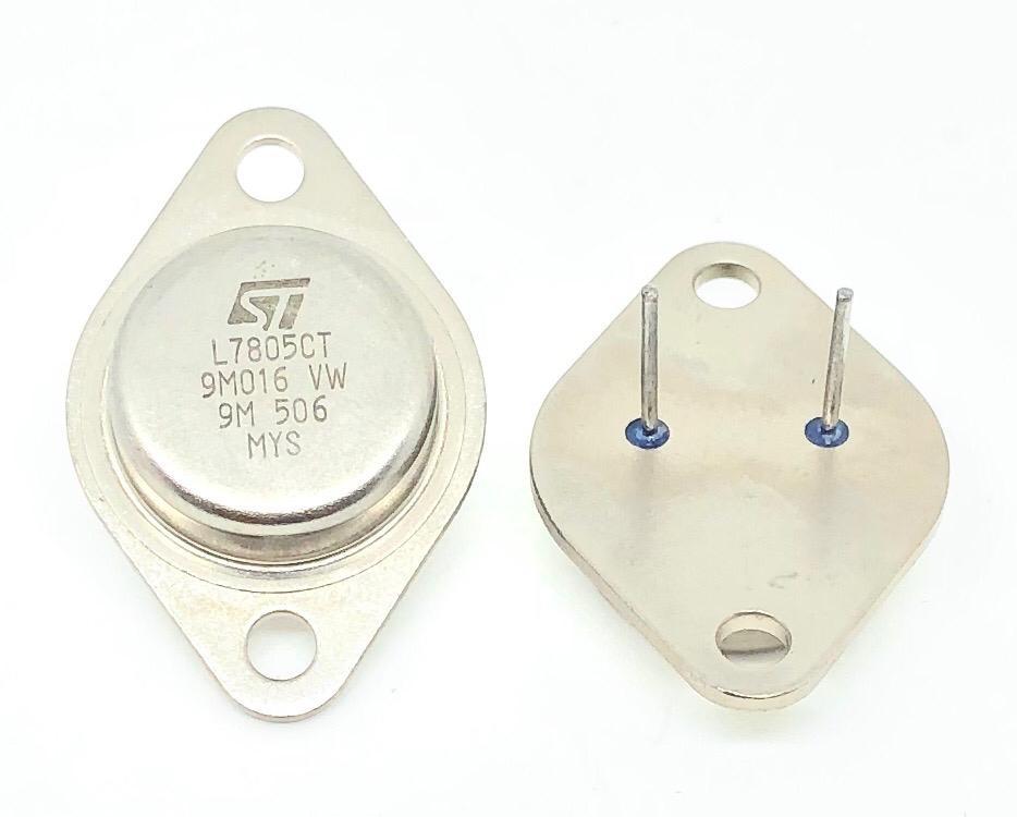 CIRCUITO INTEGRADO L7805CT TO-3 METALICO STMICROELECTRONICS