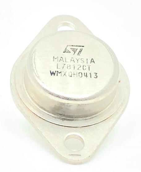 CIRCUITO INTEGRADO L7812CT TO-3 METALICO STMICROELECTRONICS