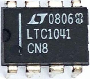 CIRCUITO INTEGRADO LTC1041CN8 DIP 08PINOS LINEAR TECHNOLOGY
