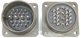 CONECTOR 22VIAS MACHO MS3102A28-11P AMPHENOL (MS3102A2811P)