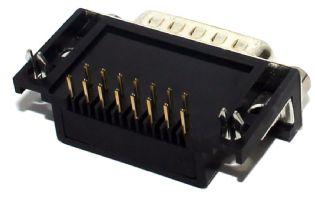 CONECTOR DB15 FEMEA 90º SOLDA PCI DB15F90PCI