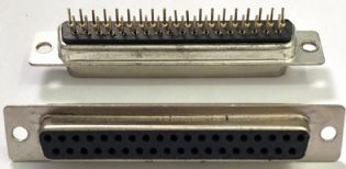 CONECTOR DB37 FEMEA 180º SOLDA PCI DB37FPCI