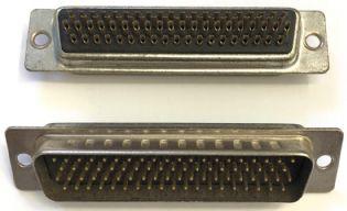 CONECTOR DB78 MACHO SOLDA FIO DB78MSF