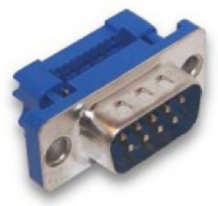 CONECTOR DB9 MACHO PARA FLAT CABLE DB9MFLAT