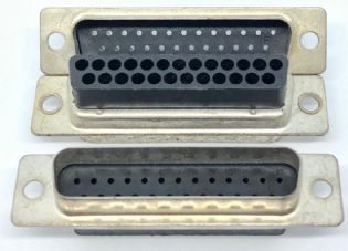 CONECTOR DE CRIMPAGEM DB25 MACHO DB25MR00