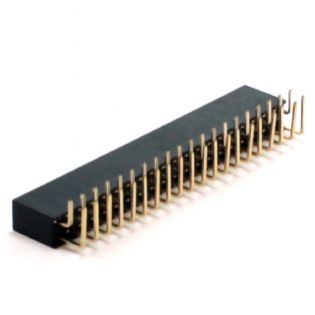 CONECTOR HEADER 16VIAS 90° SEM EJETOR 16TS90