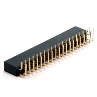 CONECTOR HEADER 50VIAS 90° SEM EJETOR 50TS90