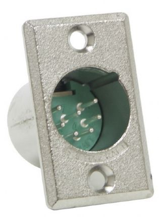 CONECTOR XLR 7PINOS D7M PAINEL SWITCHCRAFT