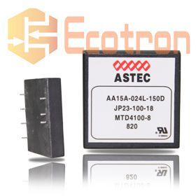 CONVERSOR DC/DC AA15A-024L-150D 24V ASTEC (AA15A024L150D)