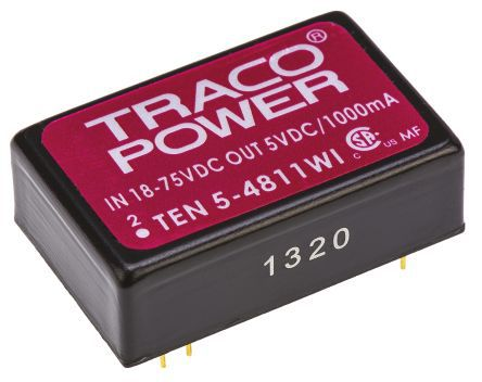 CONVERSOR DC/DC TEN5-4811WI TRACO POWER (TEN54811WI)