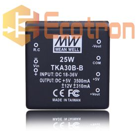 CONVERSOR DC/DC TKA30B-B MEAN WELL (TKA30BB)