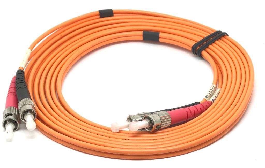CORDAO OPTICO DUPLEX ST/ST DUPLEX 3MM 2MT PC-TPTP-233002 55418 TOWER