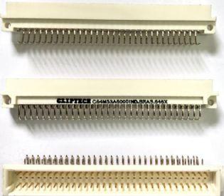 EURO CONECTOR 64VIAS 90° C64M53A6000 CLIPTECH
