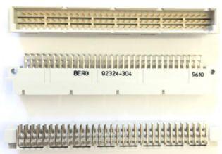EURO CONECTOR 96VIAS 90º MACHO 92324-304 BERG (92324304)