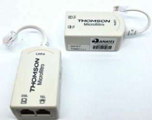 MICROFILTRO ADSL THOMSON PADRAO ANATEL