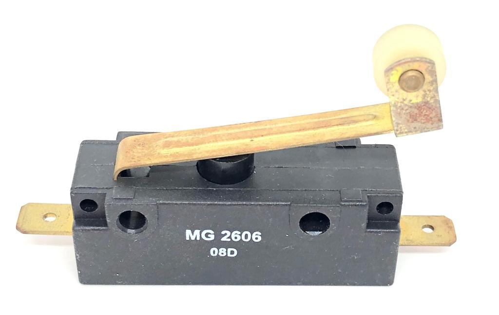 MICROINTERRUPTOR HASTE RIGIDA COM ROLETE MG2606-NA-E3 MARGIRIUS (MG2606NAE3)