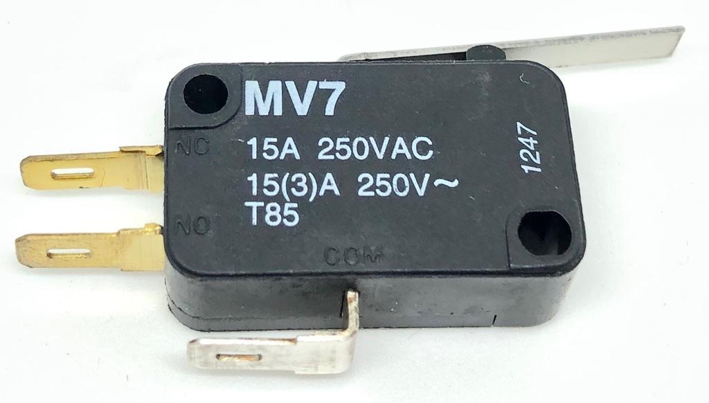 MICRORUPTOR COM ALAVANCA 26MM MV7G3CA1 KAP