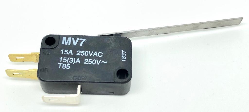 MICRORUPTOR COM ALAVANCA 50MM MV7G6CA1 KAP
