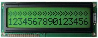 MODULO DISPLAY LCD DEM16215SYH-LY-CYR22