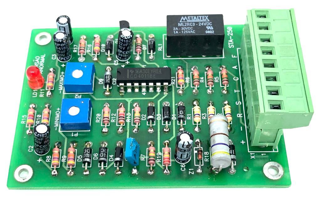 PLACA STA250 380V 24VCC DIAMOND HEIMER (STA250-380/24V)