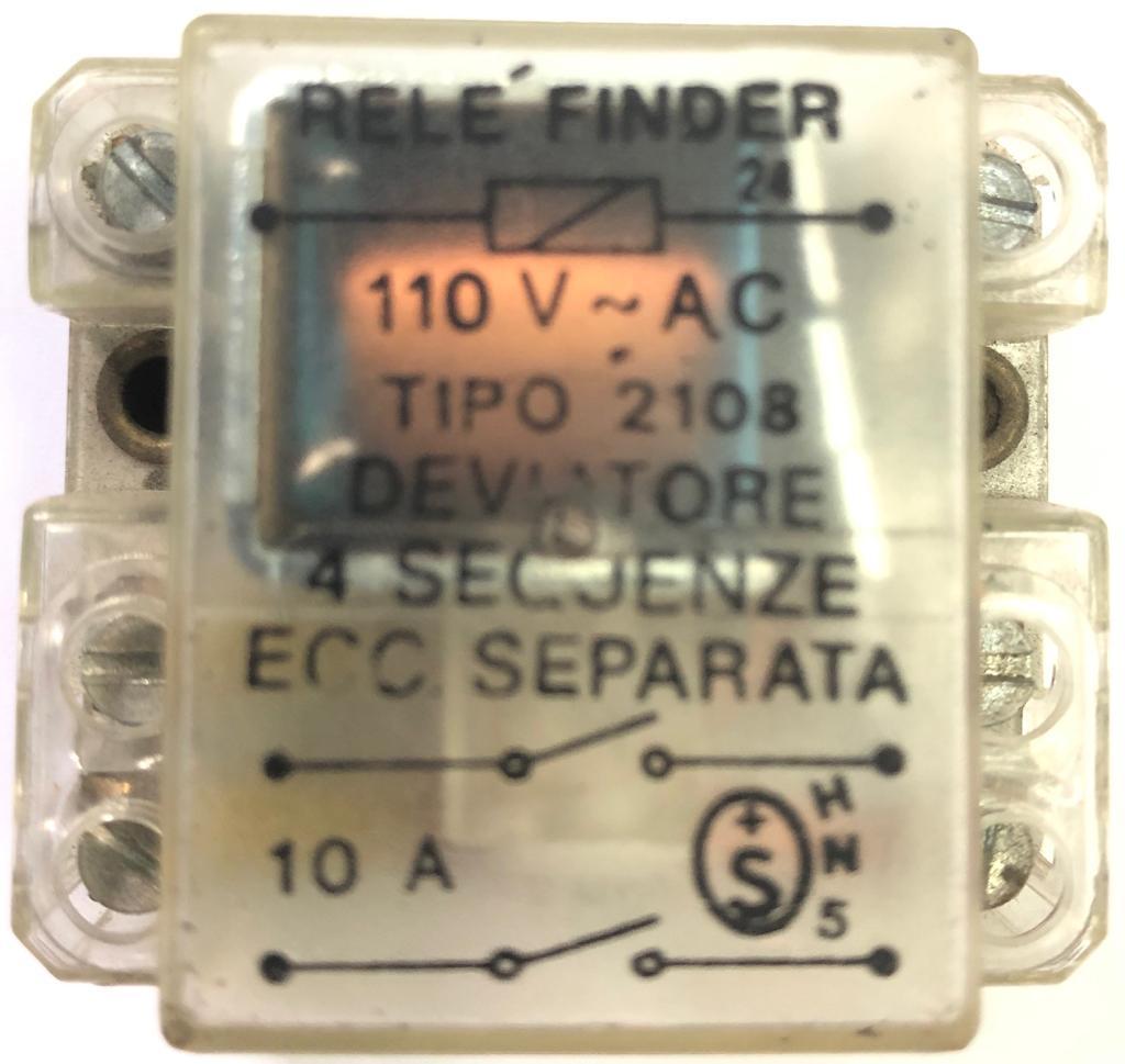 RELE 2108 110VAC 10A FINDER