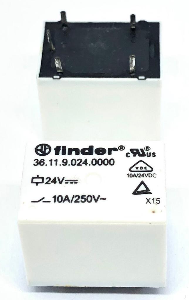 RELE 3611.9.024.0000 24VDC FINDER (361190240000 FINDER)