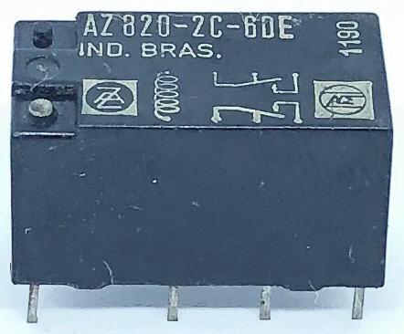 RELE AZ820-2C-6DE 6VDC ZETTLER (AZ8202C6DE)