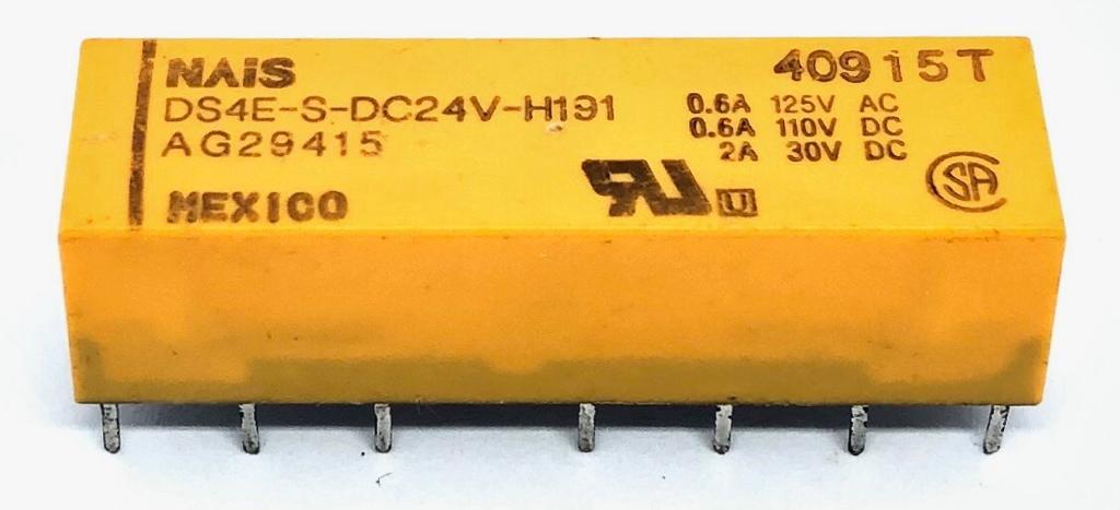 RELE DS4E-S-DC24V-H191 NAIS (DS4ESDC24VH191)