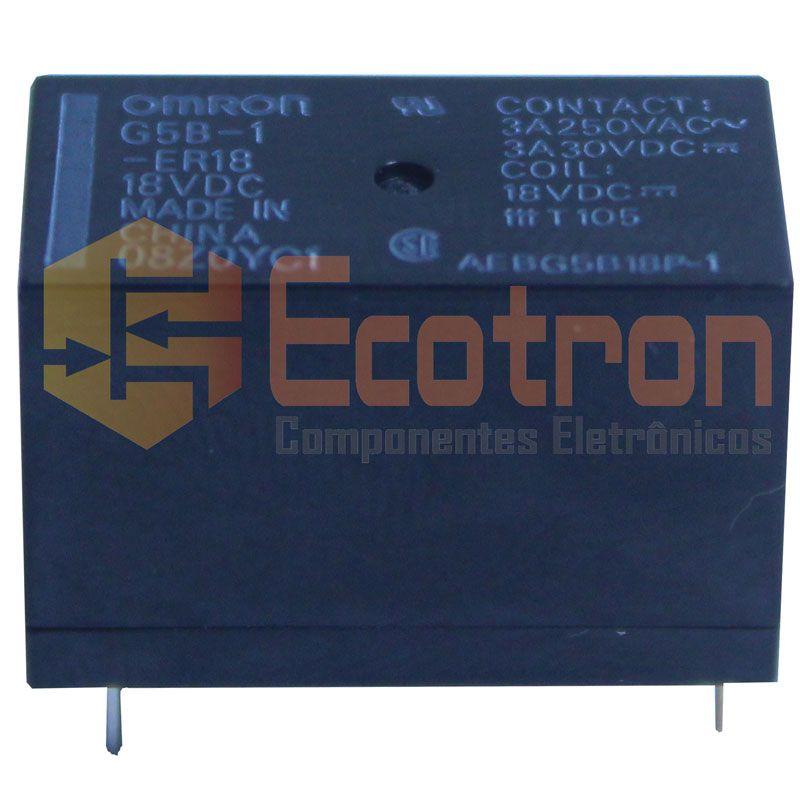 RELE G5B-1-ER18 18VDC OMRON