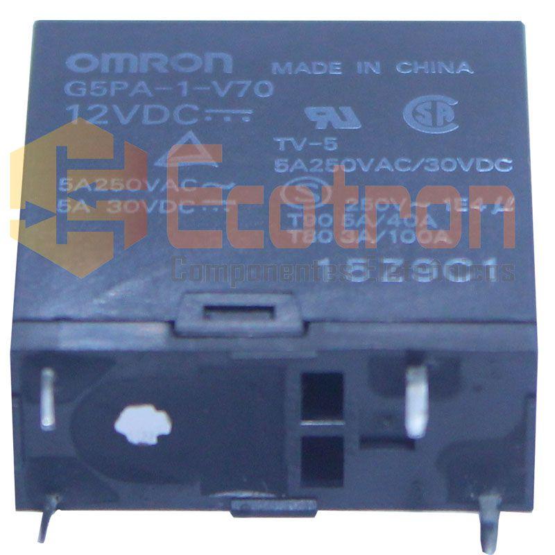 RELE G5PA-1-V70(PF) 12VDC OMRON