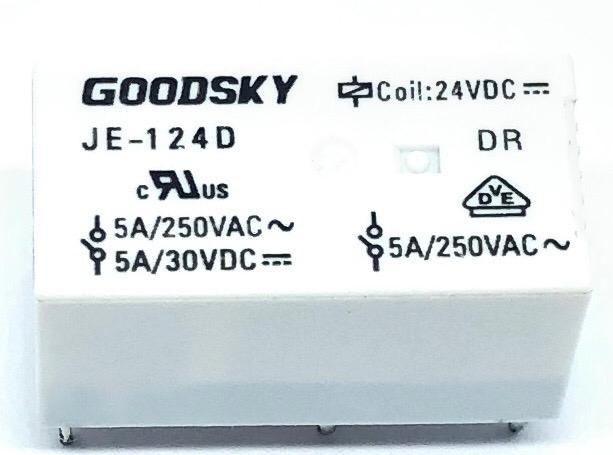 RELE JE-124D 24VDC GOODSKY (JE124D)