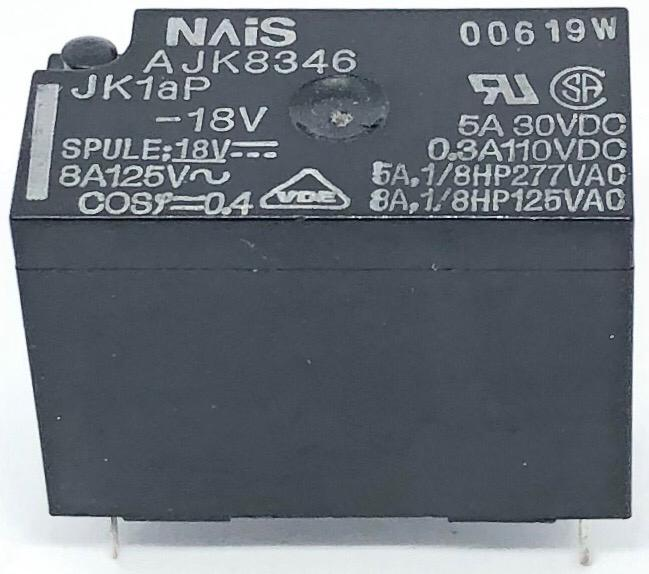 RELE JK1AP-18V 18VDC NAIS_PANASONIC