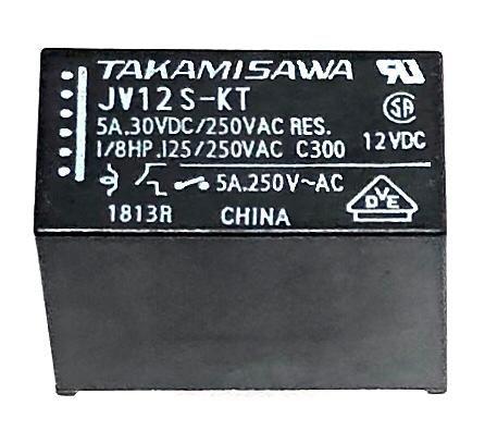 RELE JV-12S-KT FUJITSU_TAKAMISAWA (JV12SKT)