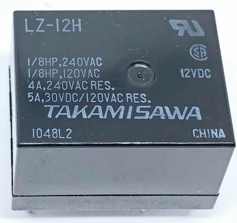 RELE LZ-12-H 12VDC FUJITSU_TAKAMISAWA (LZ12H)