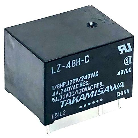RELE LZ-48H-C FUJITSU_TAKAMISAWA (LZ48HC)