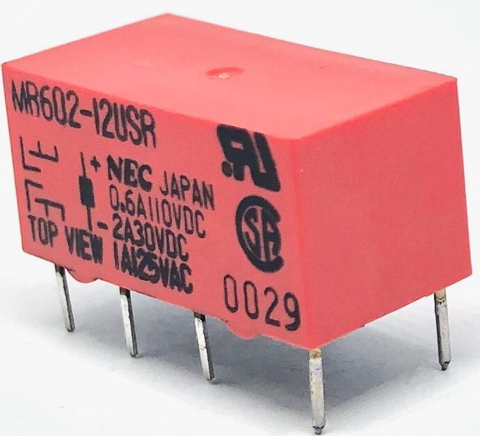 RELE MR602-12USR 12VDC NEC (MR60212USR)