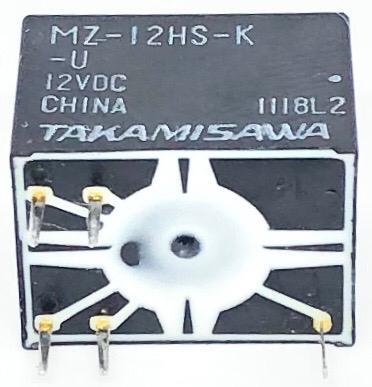 RELE MZ-12HS-K-U 12V TAKAMISAWA (MZ12HSKU)