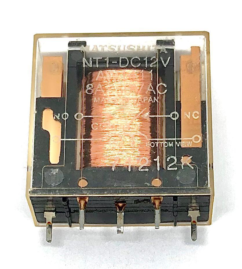 RELE NT1-DC12V 12VDC PANASONIC_MATSUSHITA (NT1DC12V)