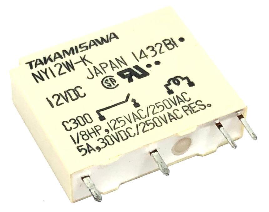 RELE NY-12W-K 12VDC FUJITSU_TAKAMISAWA (NY12W-K  NY12WK)