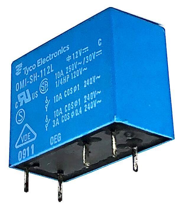 RELE OMI-SH112L 12VDC TYCO (OMISH112L)