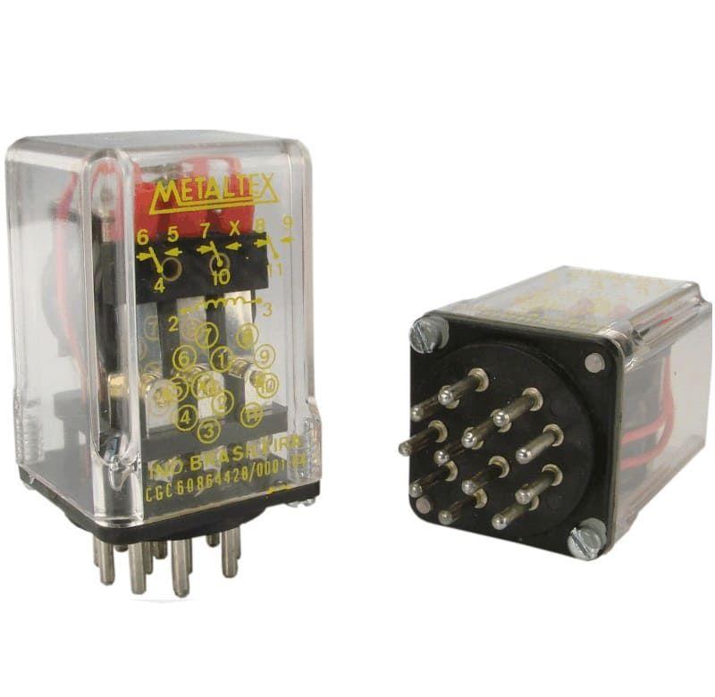 RELE OP1RC2 12VDC METALTEX